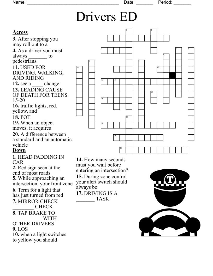 Chapter 1 and 1 Crossword - WordMint